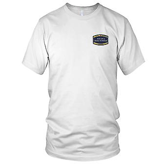 US Navy Seabees Son Of A Iraqi Veteran Embroidered Patch - Ladies T Shirt