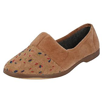 Ladies Lady Love Slip On Slippers Lynne