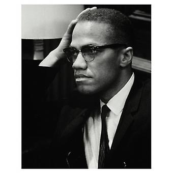 Malcolm X Washington DC 1964 (mini) Poster Print (8 x 10)