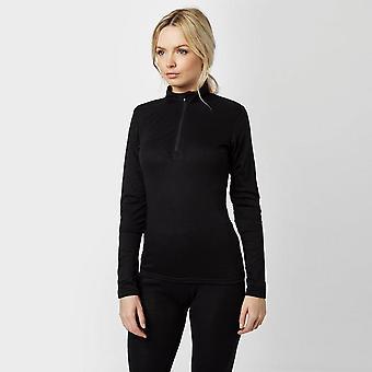 New Peter Storm Women's Thermal Crew Long Sleeve Baselayer Black (en)