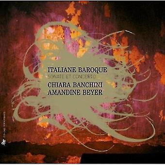 Ensemble 415/Chiara Banchi - italiensk barok: Sonater og koncerter [CD] USA import