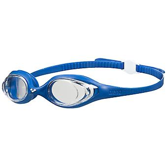 Arena Spider Adult Swim Goggle - Clear Lens - Blue/White
