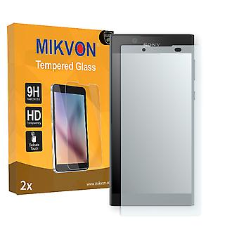 Sony Xperia L1 Screen Protector - Mikvon flexible Tempered Glass 9H (Retail Package with accessories)