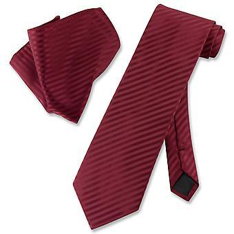 ベスビオ ナポリ ストライプ ネクタイ ・ ハンカチ首ネクタイ セットに一致します。