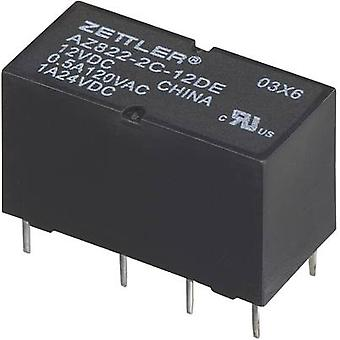 PCB relays 3 Vdc 2 A 2 change-overs Zettler Electronics
