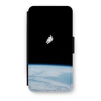 Huawei P8 Lite (2015-2016) Flip Case - Alone in Space