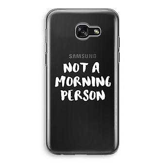 Samsung Galaxy A5 (2017) Transparent Case - Morning person
