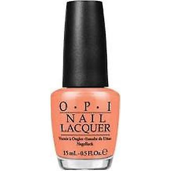 OPI Hawaii Collection Nail Polish 15ml - Is Mai Tai Crooked? NLH68