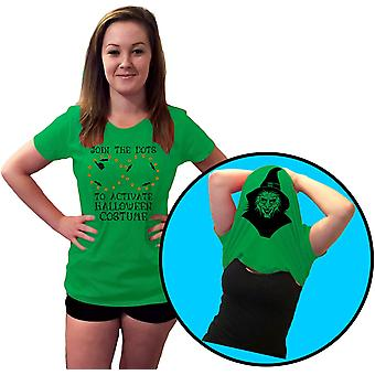 Dot to Dot Funny, Rude Flip Over Halloween Costume Womens T-Shirt 8 Colours by swagwear