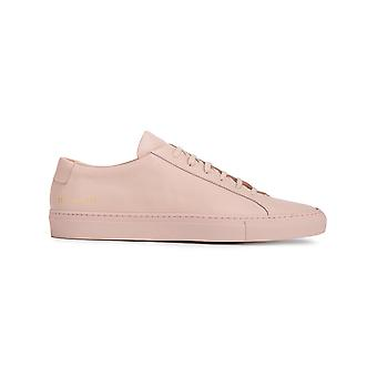 Common projects men's 15282015 pink LEDER sneakers