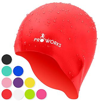 ProWorks Swimming Cap - Red