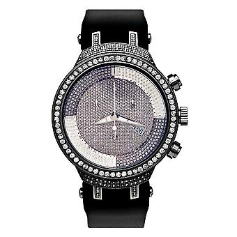Joe Rodeo diamant mænds watch - MASTER Black 4.8 ctw