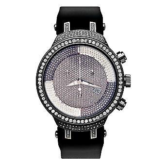 Joe Rodeo diamond men's watch - MASTER Black 4.8 ctw