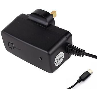 InventCase 1,5 m USB Type C Portable voyage 3 Pin mur AC Chargeur alimentation adaptateur fiche pour HTC U11/U11 + / U11 yeux de vie/U11/U12/U12 +