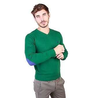 U.S. Polo Men Sweaters Green