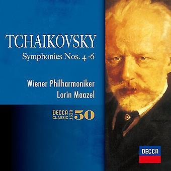 Lorin Maazel - Tchaikovsky: The Symphonies Nos.4-6 [CD] USA import