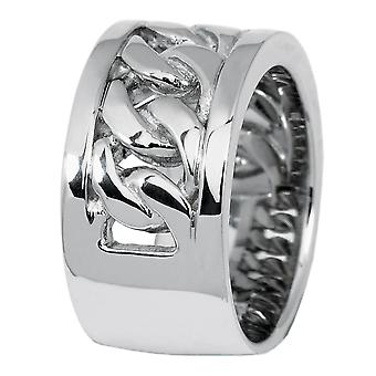 Burgmeister women's ring JBM1002-129, 925 sterling silver rhodanized