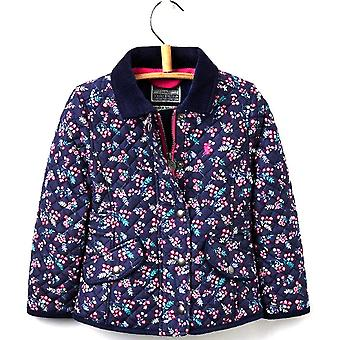 Joules Girls Newdale Warm Premium Quilt Padded Jacket Coat