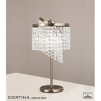 Cortina tabellen lampe 3 lys