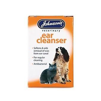 (10 パック)ジョンソンの獣医 - 耳洗剤 18 ml