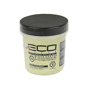 Eco Style Black Castor & hørfrø Gel 473ml