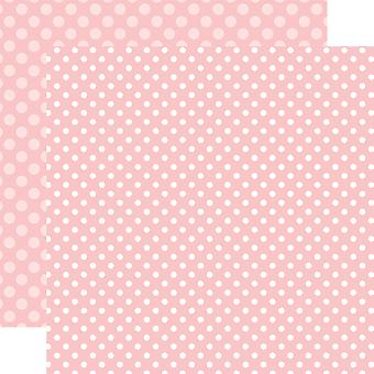Echo Park Spring Dot/Stripe Double-Sided Cardstock 12