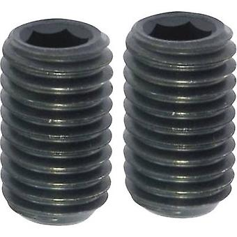 TOOLCRAFT 237515 Grub screw M4 5 mm Steel 20 pc(s)