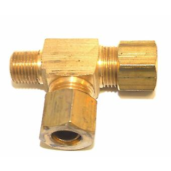 Big A Service Line 3-171520 Brass Pipe, Tee Fitting Kit 5/16