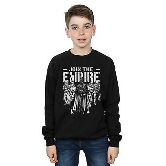 Star Wars Boys Support The Troops Sweatshirt