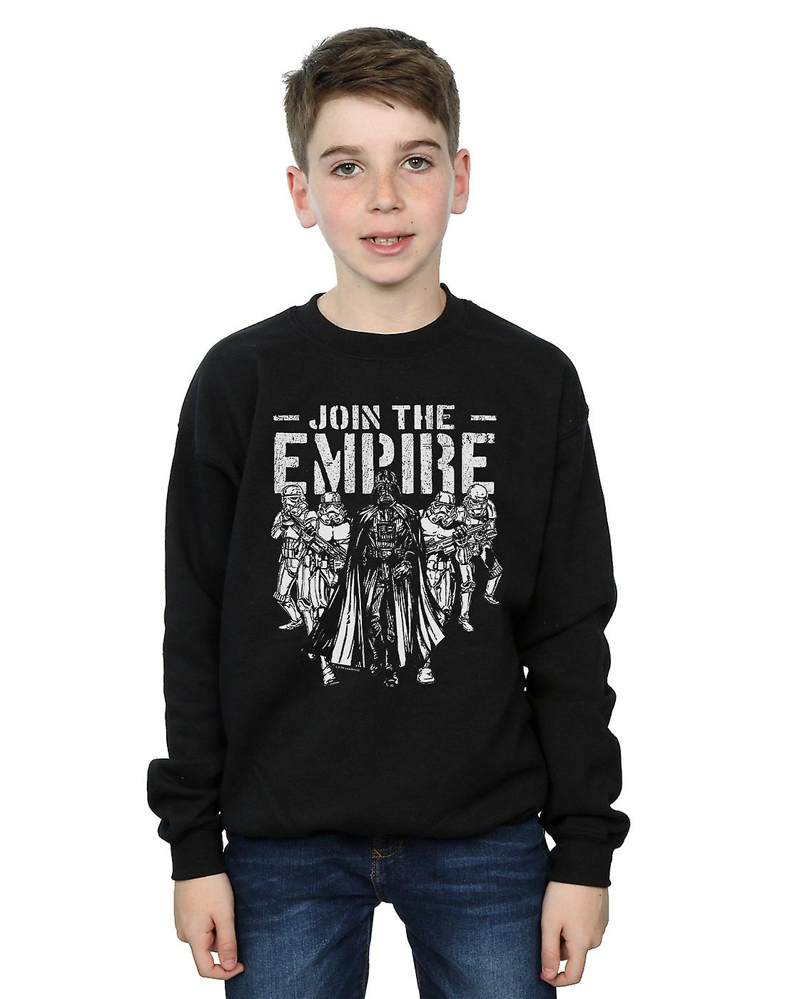 Star Wars Boys Support The Troops Sweatshirt