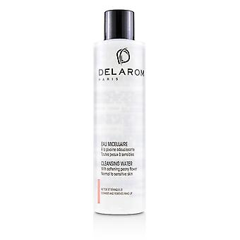 Delarom Cleansing Water - For Normal to Sensitive Skin - 200ml/6.7oz