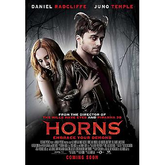 Horns Movie Poster (11 x 17)