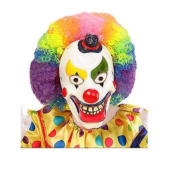 Clown demi visage masque en Latex mousse - enfant