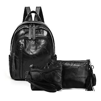 The backpack, shoulder bag, cosmetic bag, genuine lambskin