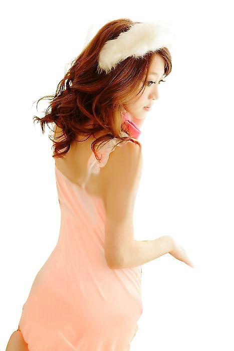 Waooh 69 - Nuisette Rose Saumon Et String
