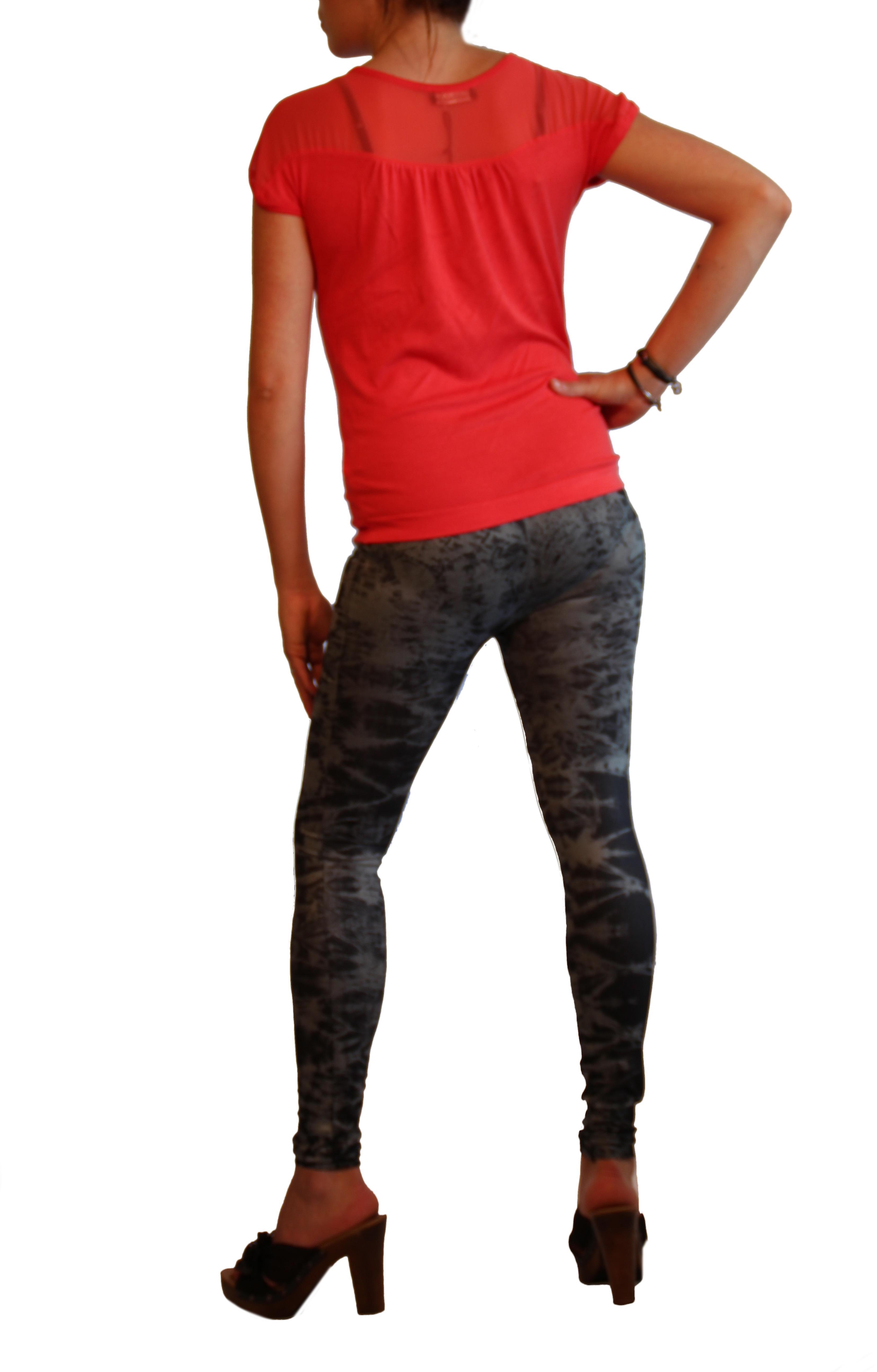 Legging jeans style worn