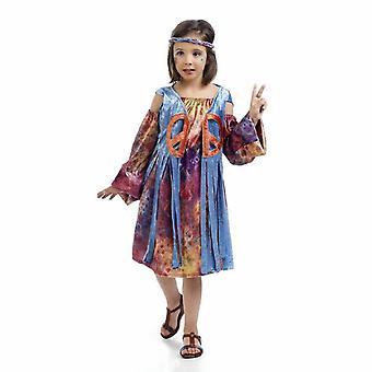 Hippie girl child costume Luna flower child costume kids