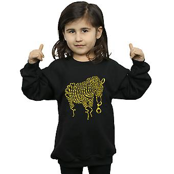 Drewbacca Girls Police Horse Sweatshirt