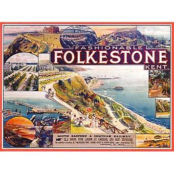 Fashionable Folkestone - The Golden Age of a Kent Seaside Resort by Fa