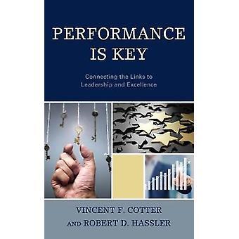 Prestaties Is Key - de Links verbinden met leiderschap en uitmuntendheid