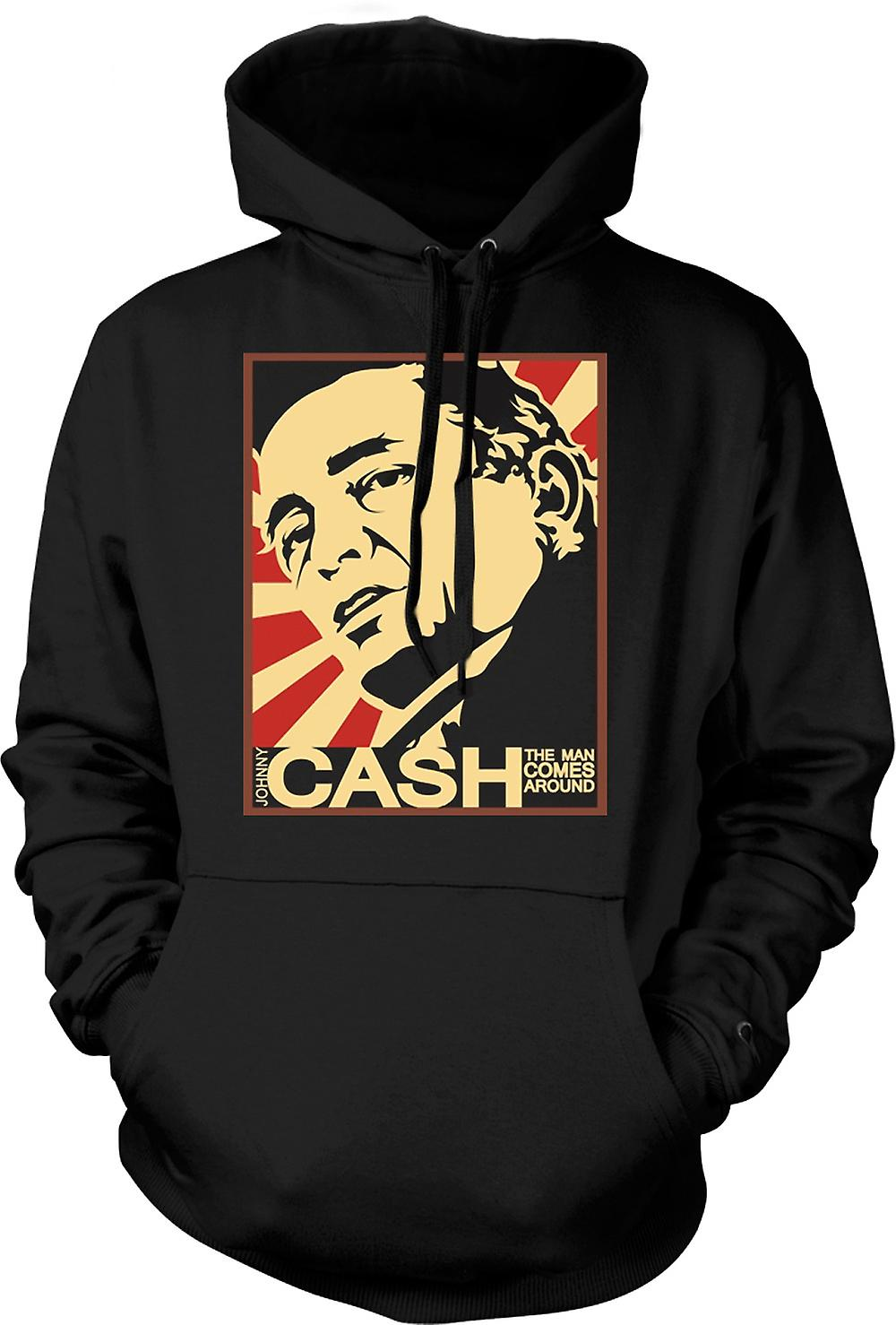 Hoodie Kids - Johnny Cash - Man Comes Around
