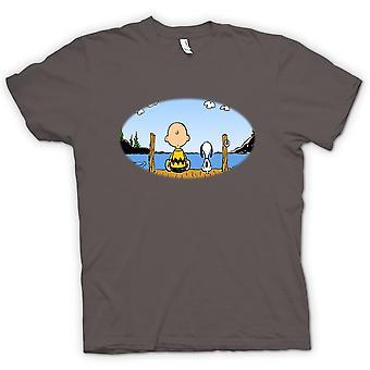 Kvinner t-skjorte - Snoopy - tegneserie