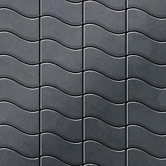 Metal mosaic Raw Steel ALLOY Flux-RS