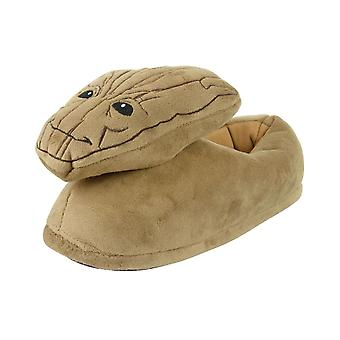Guardians Of The Galaxy Groot Women's Slippers Brown