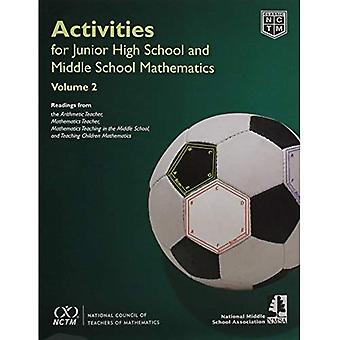 Activities for Junior High School and Middle School Mathematics, Volume 2