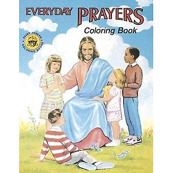 Coloring Book about Everyday Prayers
