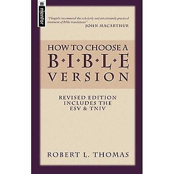 How to Choose a Bible Version
