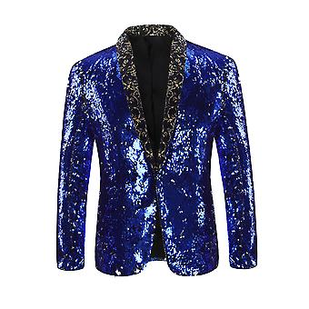Blazer Nightclub style Cloudstyle uomo paillettes Party Suit Jacket