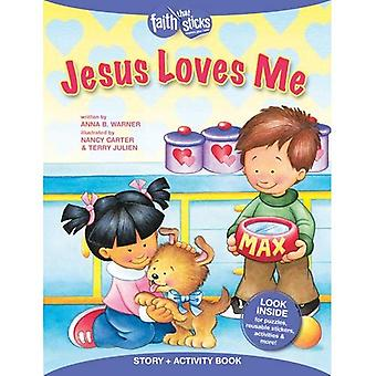 Jeesus rakastaa minua (uskoon, että sauvat)