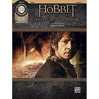 The Hobbit -- The Motion Picture Trilogy Instrumental� Solos for Strings: Violin,� Book & CD (Pop Instrumental Solo)